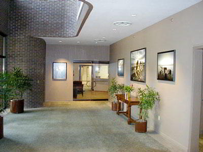 Receptionist Lobby - Virtual Offices in Westport