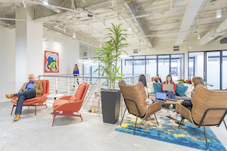 White Plains Virtual Office Address - Lounge Commons Area