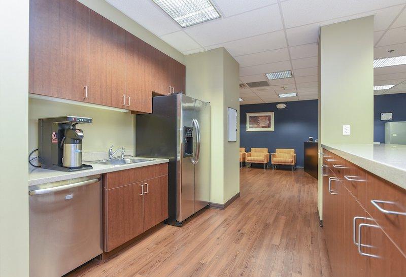 Break Room - Kitchen Area - Wilmington Virtual Office