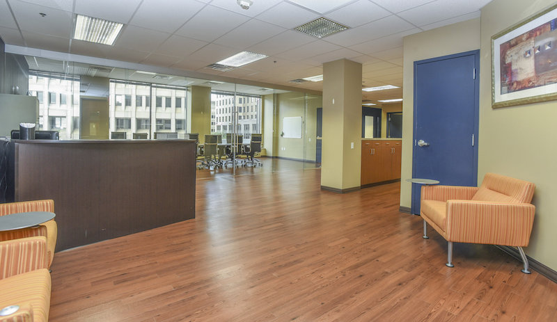 Receptionist Lobby - Virtual Offices in Wilmington