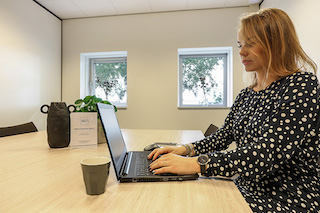 Woerden Virtual Office Space - Comfortable Commons Area