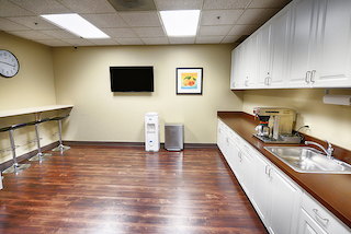 Break Area in Woodland Hills Virtual Office