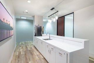 Break Area in Long Beach Virtual Office