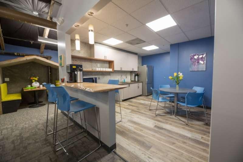Break Area in Campbell Virtual Office Space