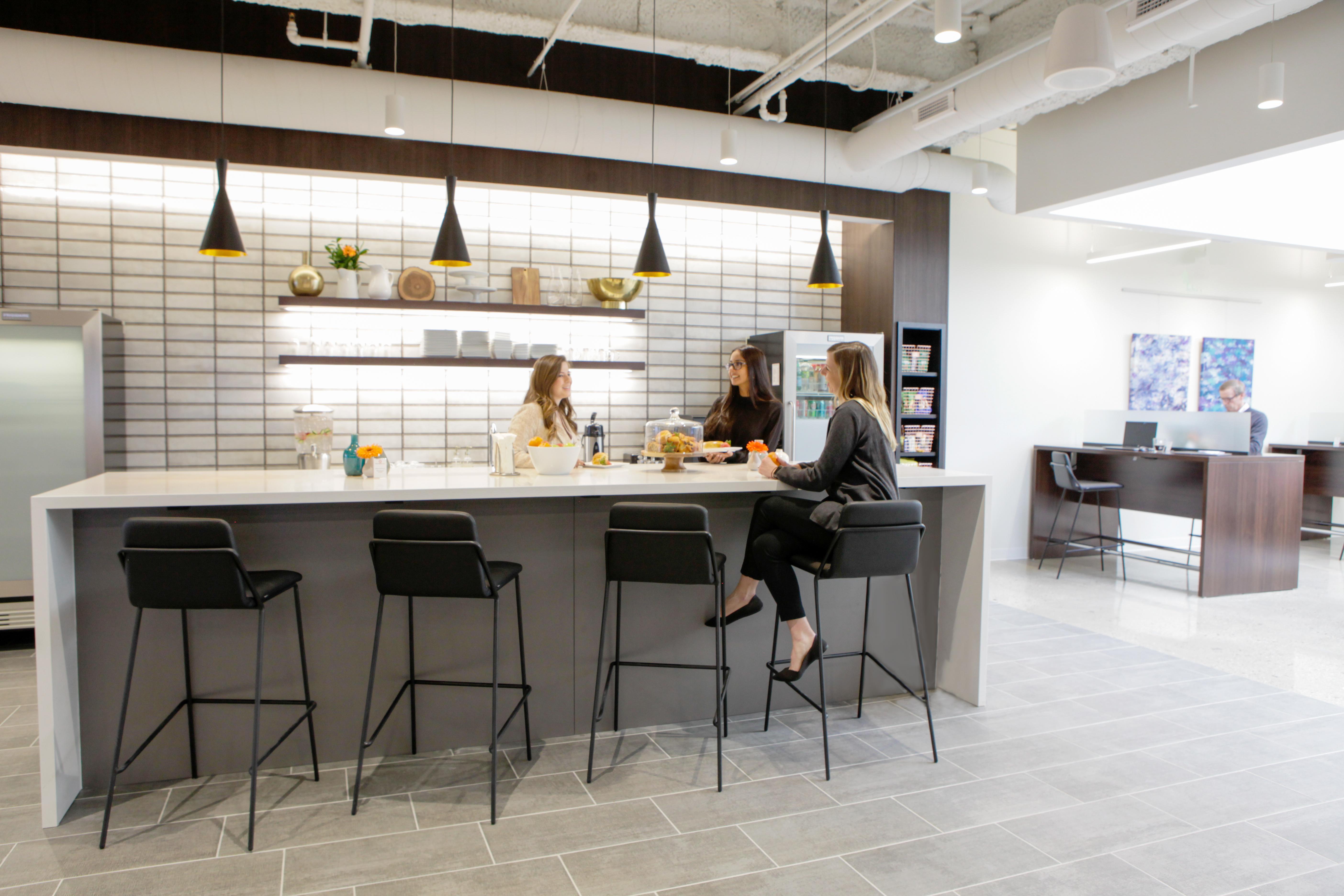 Break Area in Westport Virtual Office