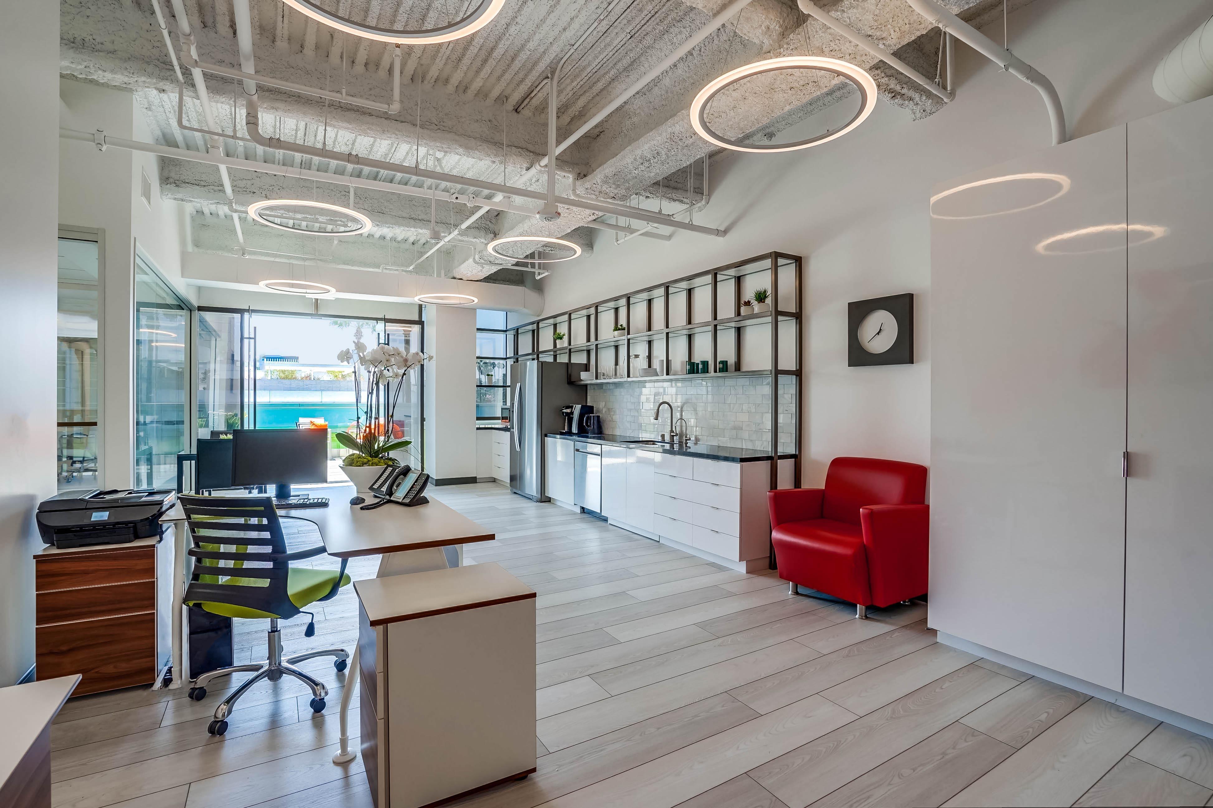 Break Area in Beverly Hills Virtual Office