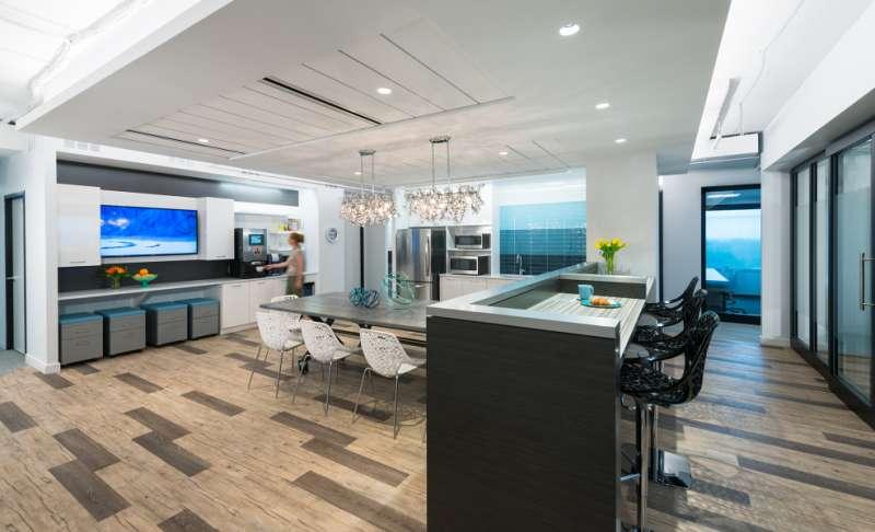 Break Area in Mclean Virtual Office