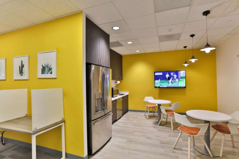 Break Area in Tysons Corner Virtual Office