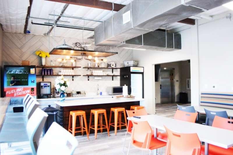 Break Area in Sugar Land Virtual Office Space