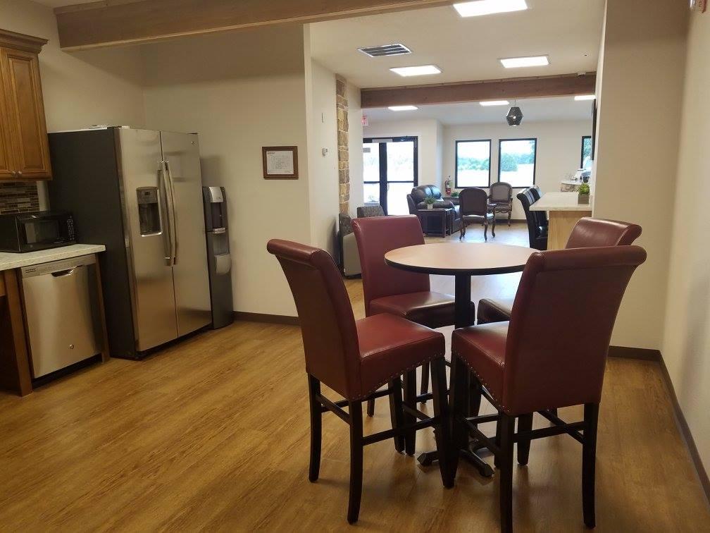 Break Area in Georgetown Virtual Office