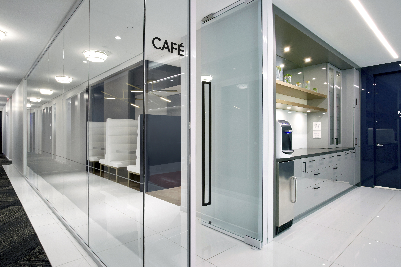 Break Area in New York Virtual Office