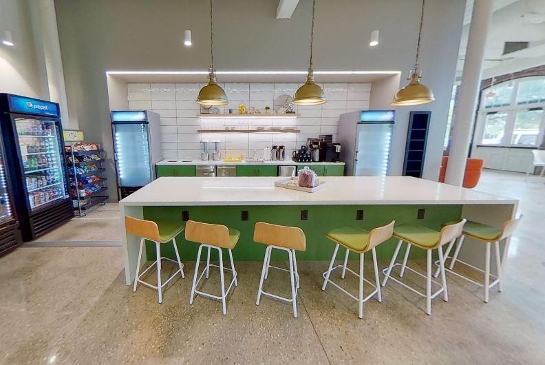 Break Room - Kitchen Area - Charleston Virtual Office