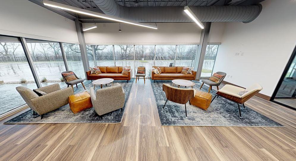 Break Area in Grapevine Virtual Office