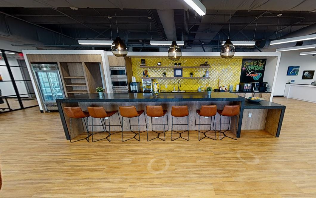 Break Room - Kitchen Area - Lewisville Virtual Office