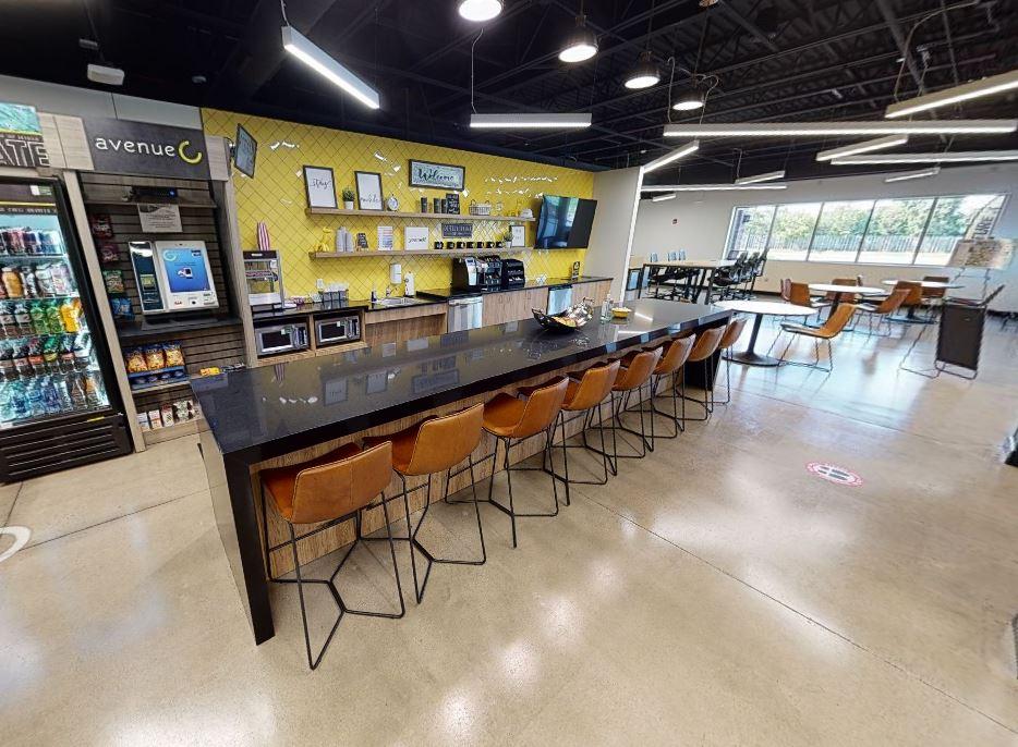 Break Area in Rochester Virtual Office Space