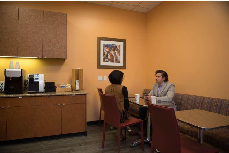 Break Area in Walnut Creek Virtual Office