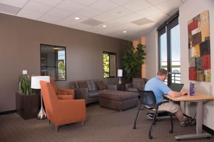 Break Area in Walnut Creek Virtual Office Space