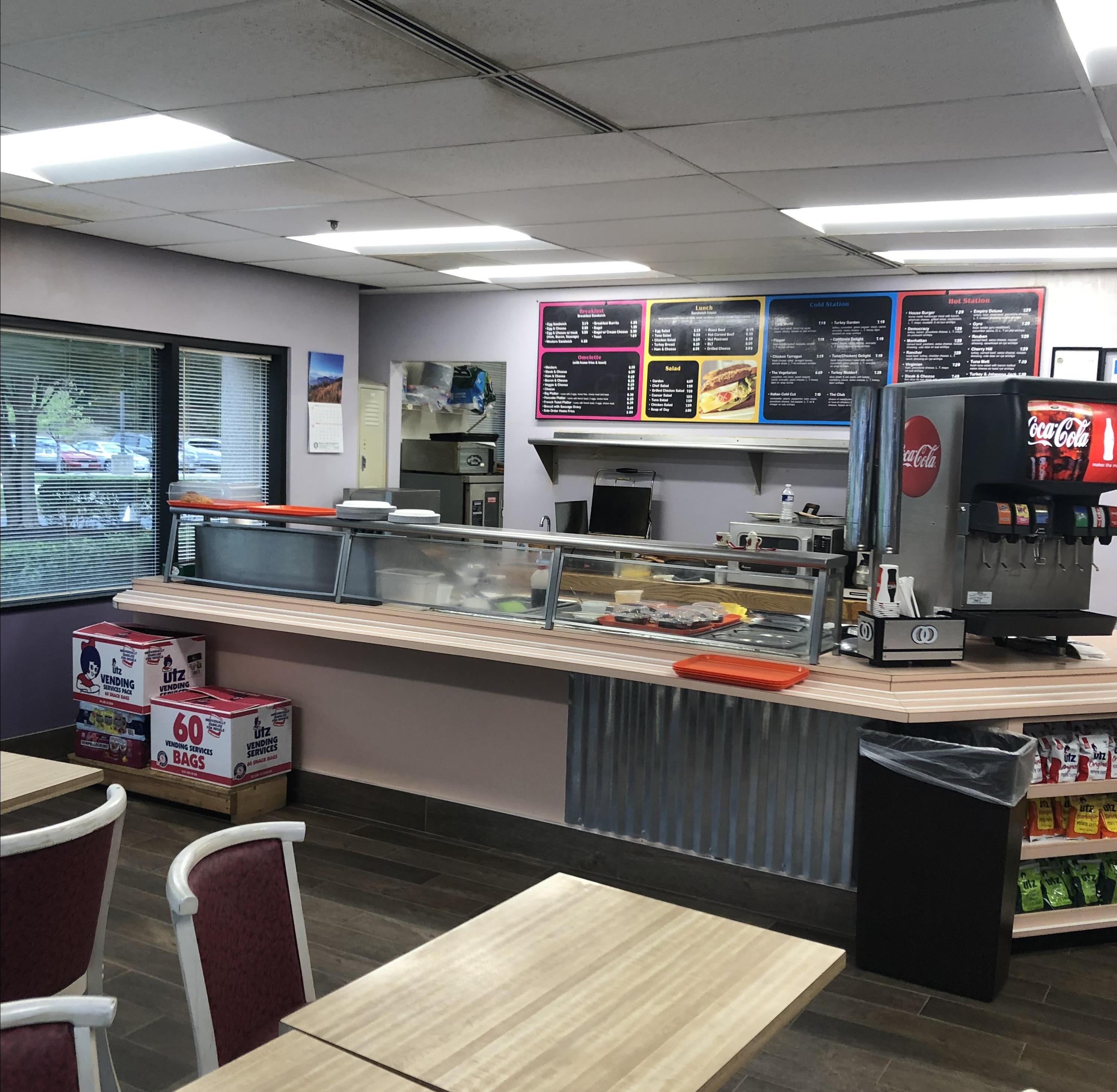 Break Area in Beltsville Virtual Office