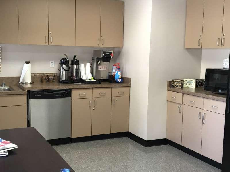 Break Area in Phoenix Virtual Office Space