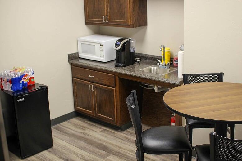 Break Area in Amarillo Virtual Office