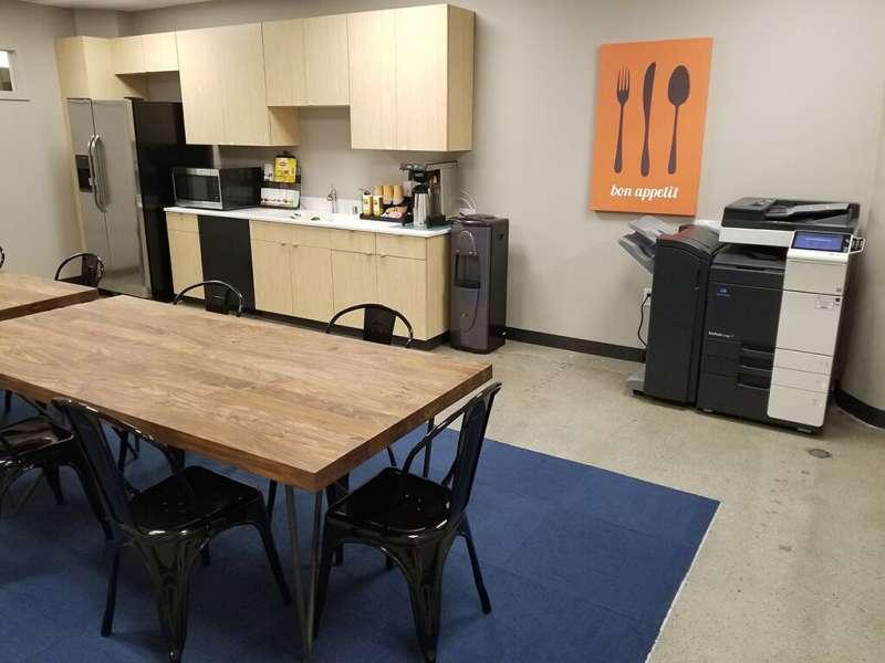 Break Area in Spokane Virtual Office