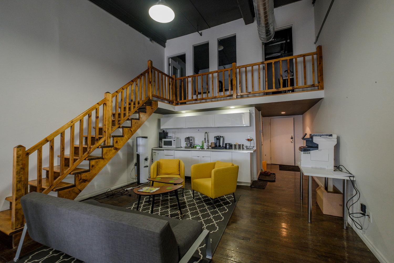 Break Room - Kitchen Area - Montreal Virtual Office