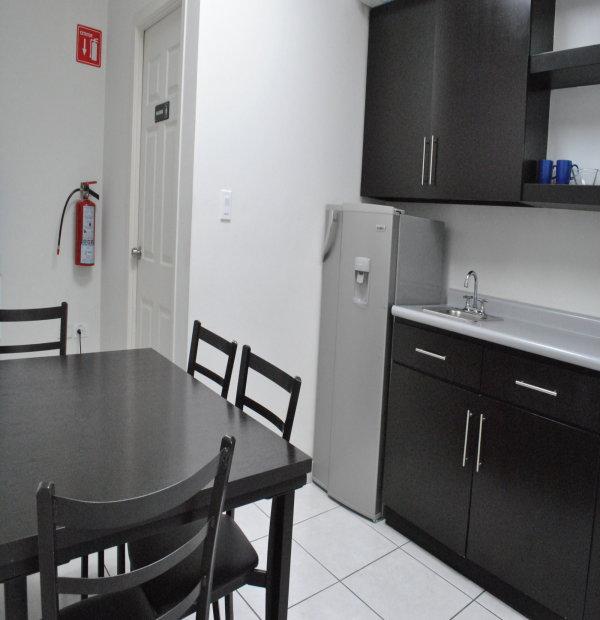 Break Area in Chihuahua Virtual Office Space