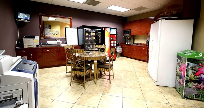 Break Room - Kitchen Area - Oxnard Virtual Office