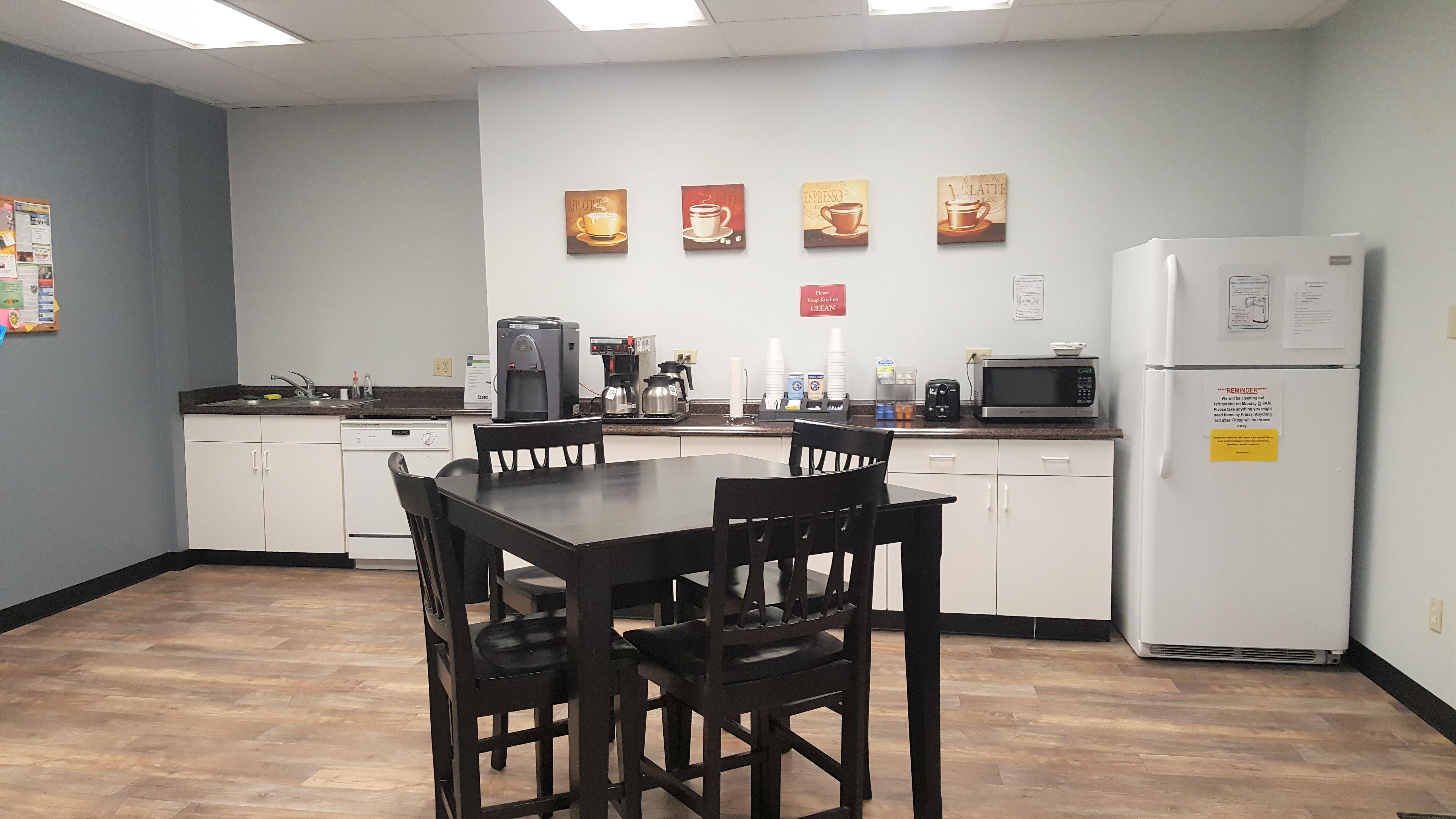 Break Room - Kitchen Area - Ontario Virtual Office