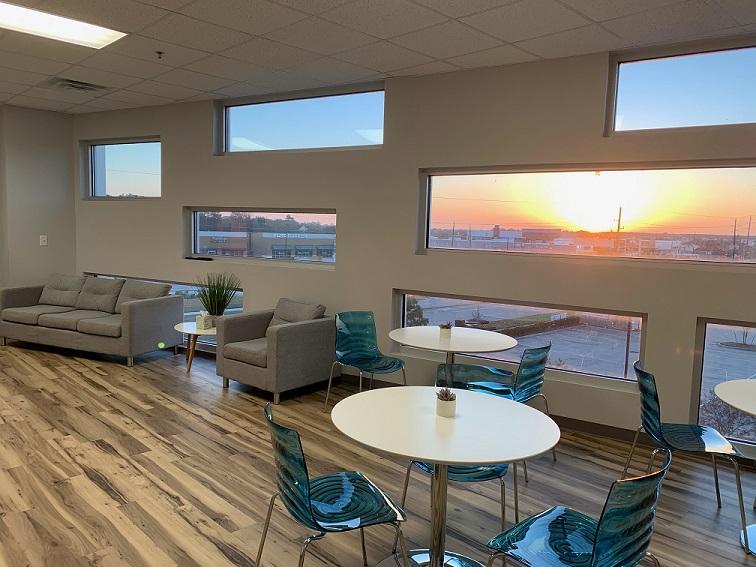 Break Area in Katy Virtual Office