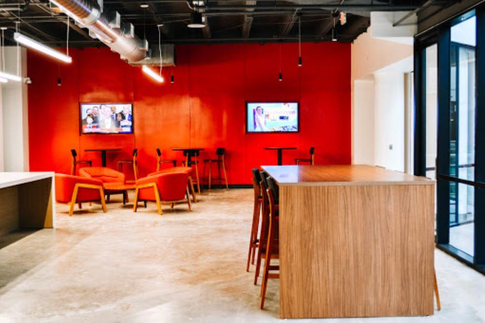 Break Area in Plano Virtual Office Space