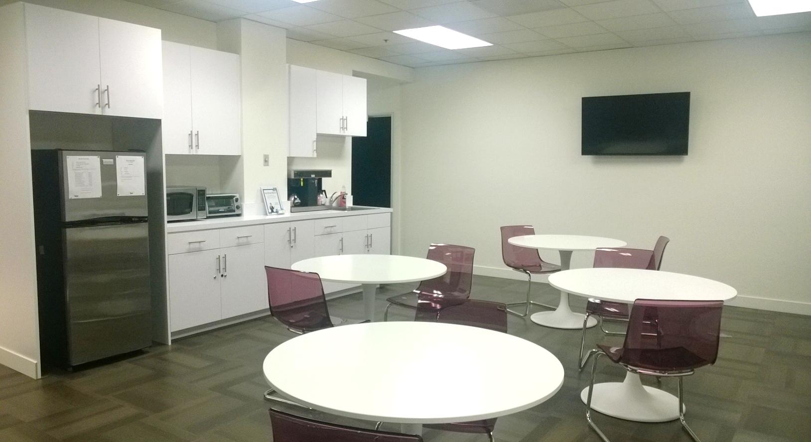 Break Area in La Mirada Virtual Office Space