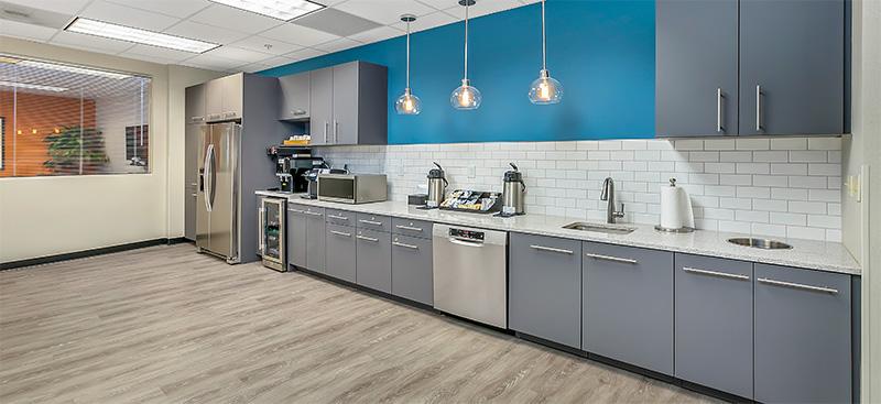 Break Area in Charlotte Virtual Office Space