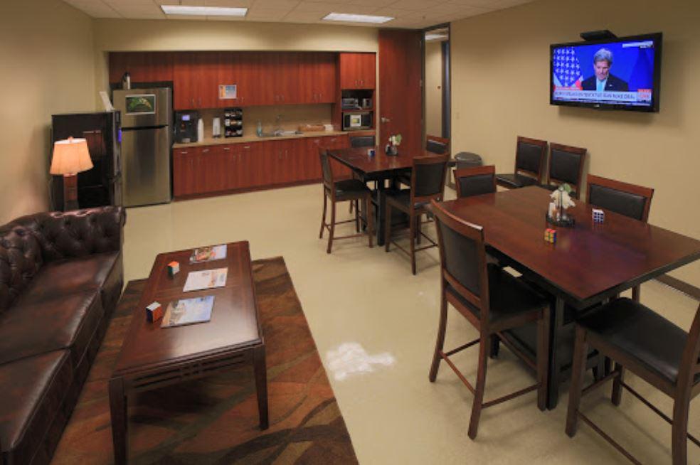 Break Room - Kitchen Area - Jacksonville Virtual Office