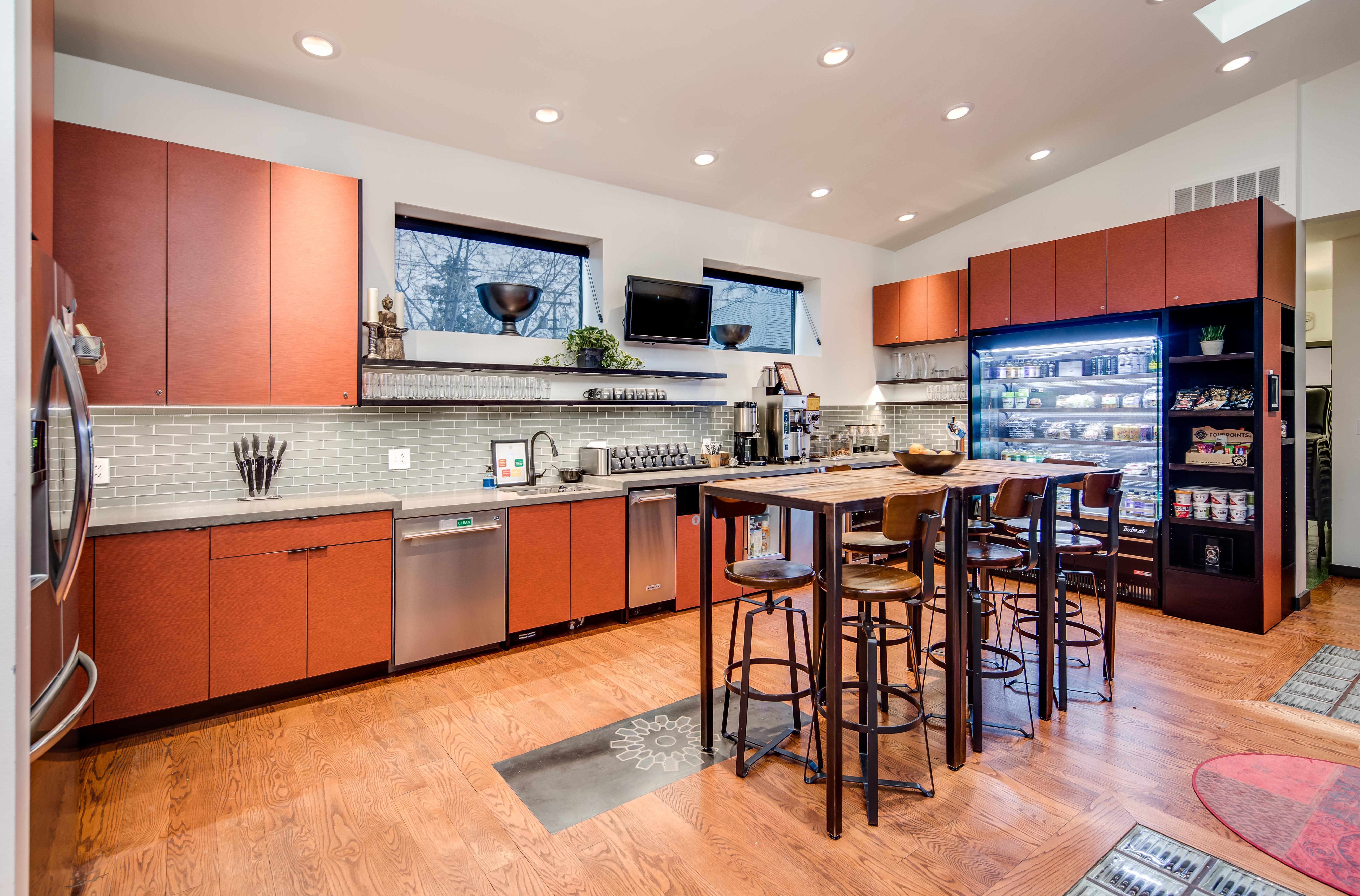 Break Room - Kitchen Area - Denver Virtual Office