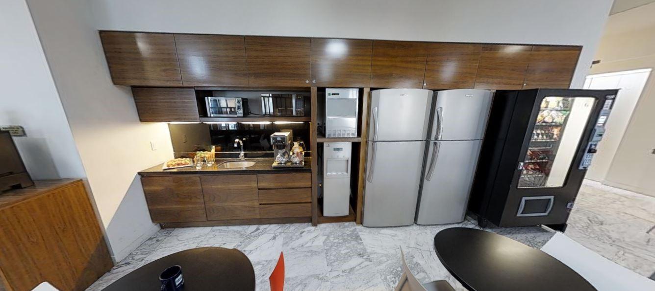 Break Room - Kitchen Area - Mexico City Virtual Office
