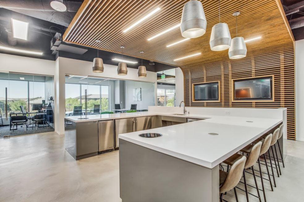 Break Room - Kitchen Area - Plano Virtual Office