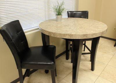 Break Room - Kitchen Area - Round Rock Virtual Office