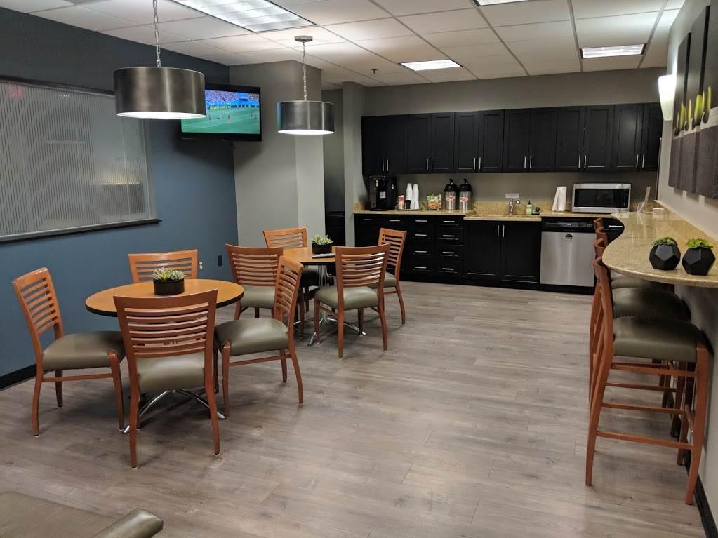 Break Area in Duluth Virtual Office Space