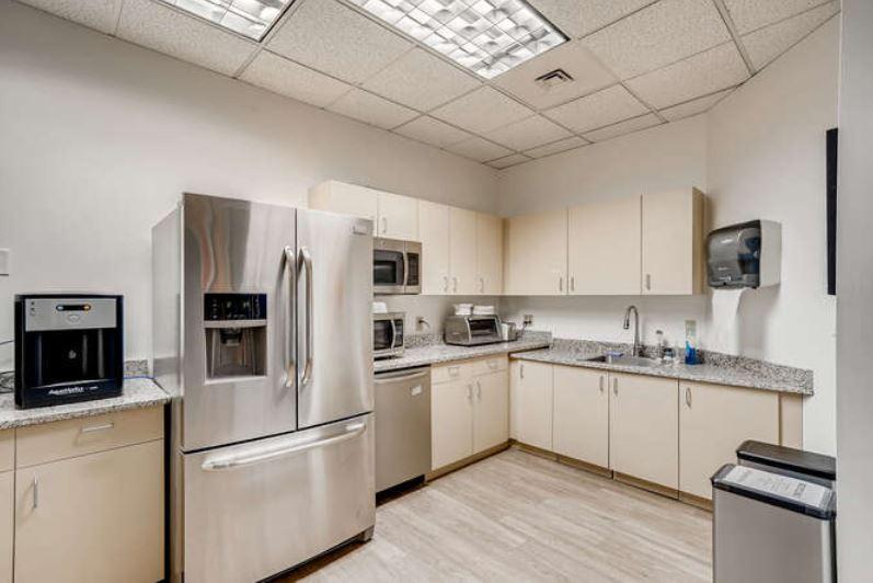 Break Room - Kitchen Area - Louisville Virtual Office