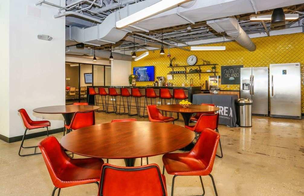 Break Area in Orlando Virtual Office Space