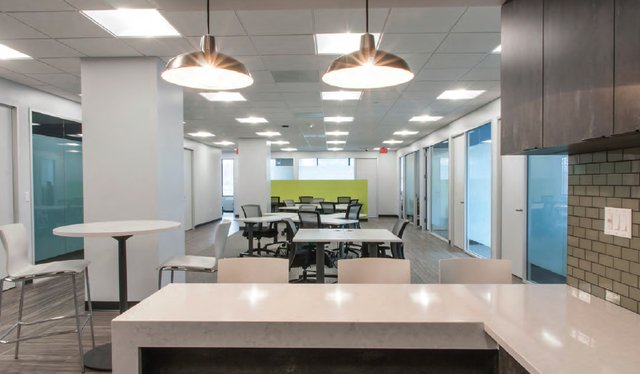 Alexandria Virtual Office Space - Comfortable Commons Area