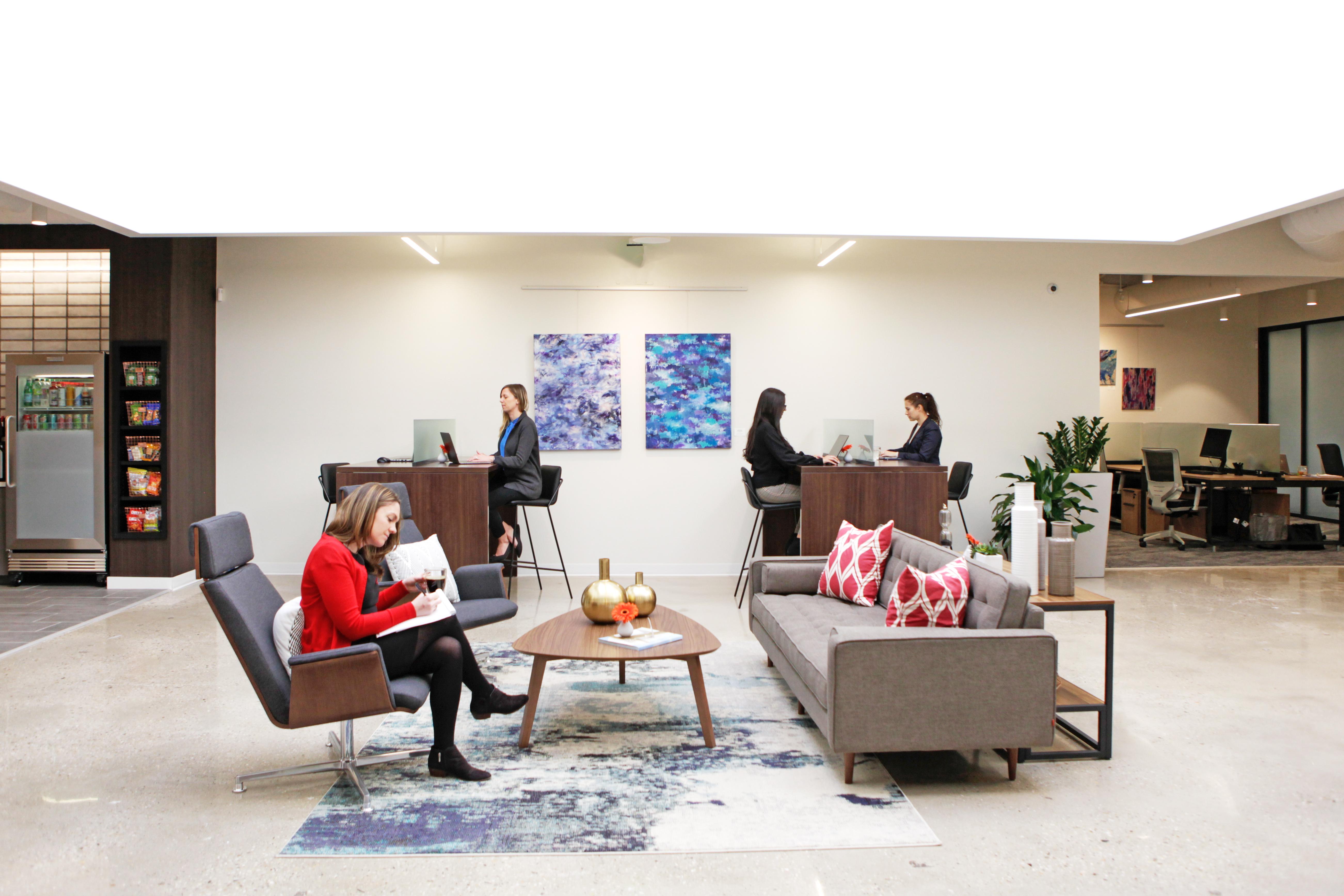Westport Busines Address - Lounge Area