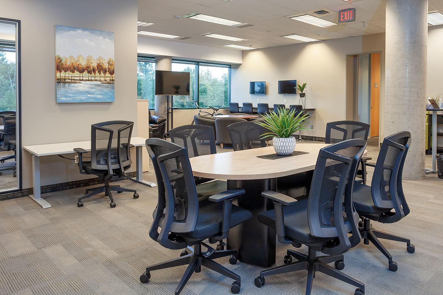 Kanata Virtual Office Space - Comfortable Commons Area