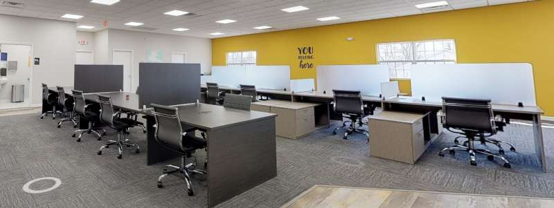 North Brunswick Township Virtual Office Space - Comfortable Commons Area