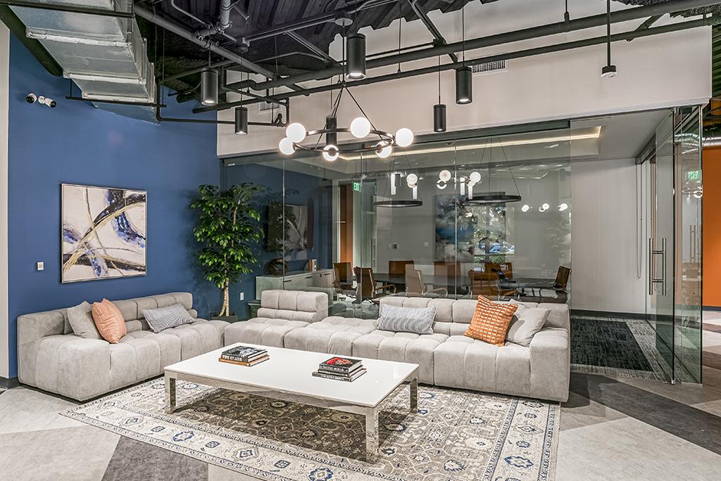 Westlake Village Busines Address - Lounge Area