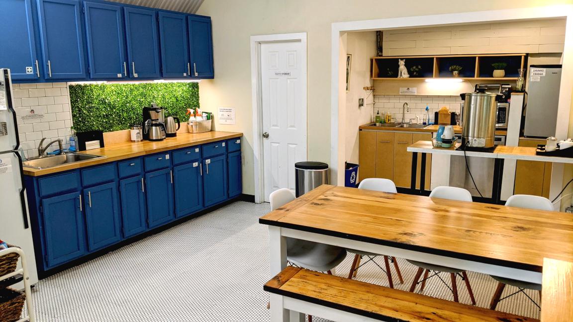 Austin Busines Address - Lounge Area