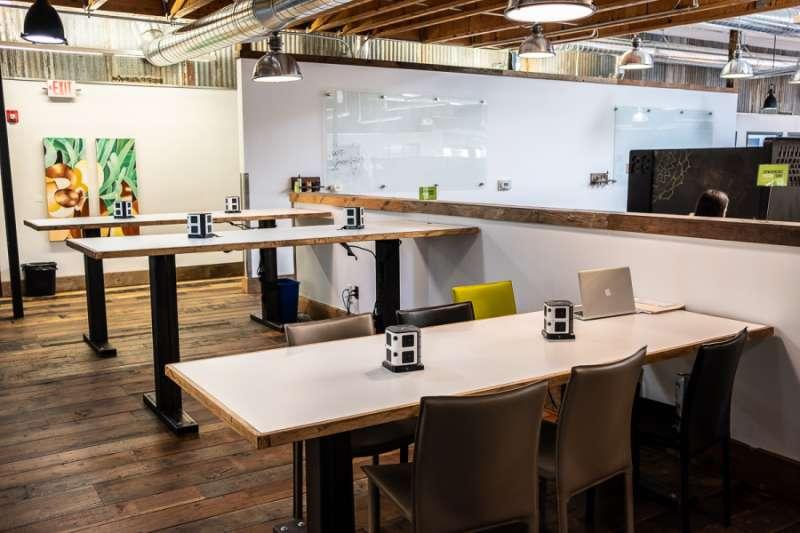 Portland Virtual Office Address - Lounge Commons Area