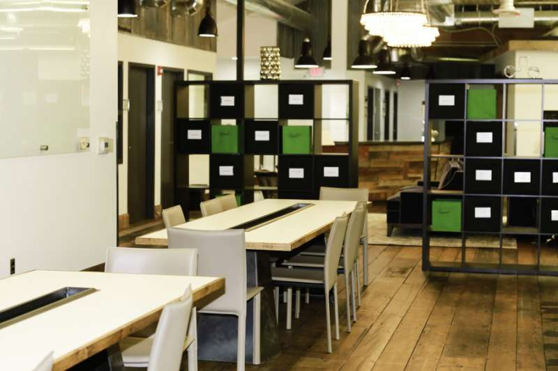Portland Virtual Office Space - Comfortable Commons Area