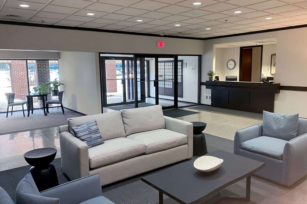 Troy Virtual Office Address - Lounge Commons Area